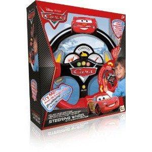 IMC Disney (ディズニー) Cars Steering Wheel ミニカー ミニチュア 模型 プレイセット自動車 ダイキャス