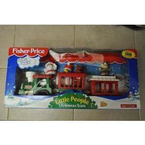 Little People Christmas Train: Christmas 1998 Collectible. Extremely Rare. ミニカー ミニチュア 模
