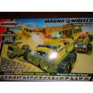 Matchbox (マッチボックス) Toys R Us Exclusive Magna Wheels Combat Rescue ミニカー ミニチュア 模型