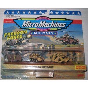Micro Machines Ironman Brigade #2 Military コレクション ミニカー ミニチュア 模型 プレイセット自動