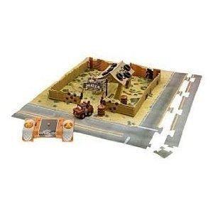 Mini Infrared Remote Control Cars Mater Junkyard Play Set ミニカー ミニチュア 模型 プレイセット自