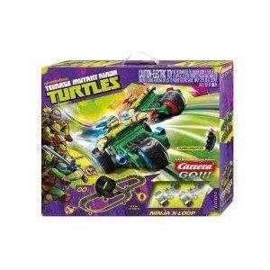 Teenage Mutant Ninja Turtles 1:43 スケール Slot Car Race Track Set ミニカー ミニチュア 模型 プレイ