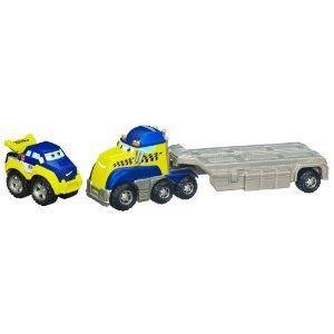 Tonka (トンカ) Chuck & Friends Rally and Clutch Racing Flatbed ミニカー ミニチュア 模型 プレイ…