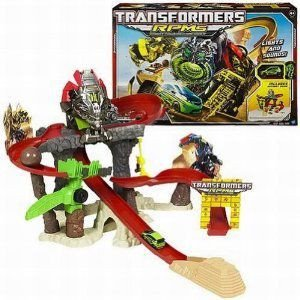 Transformers RPMs Devastator Showdown Track Vehicle Setwith Power Launcher ミニカー ミニチュア 模
