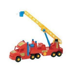 Wader Super トラックs: Fire Engine ミニカー ミニチュア 模型 プレイセット自動車 ダイキャスト