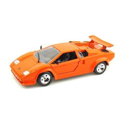 ダイキャストカー ランボルギーニ カウンタック 5000 Quattrovalvole オレンジ 1/24