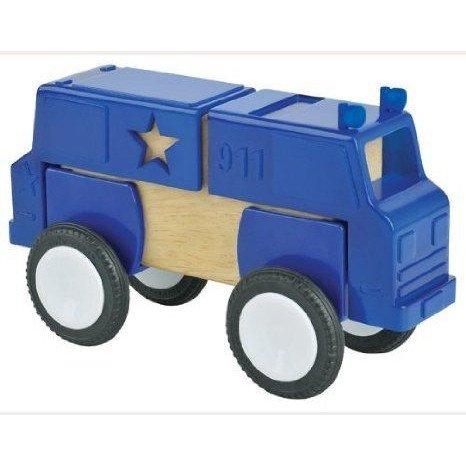 Block Mates Community Vehicles - Set of 4 ミニカー ミニチュア 模型 プレイセット自動車 ダイキャスト