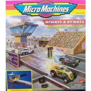 Big Daddy's Drag Strip Micro Machines Hiways & Byways プレイセット ミニカー ミニチュア 模型 プ…
