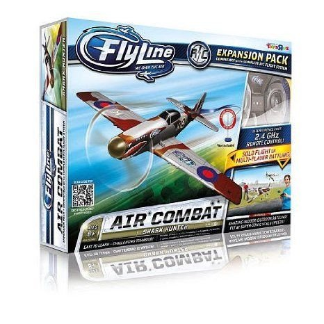 Flyline Expansion Pack Air Combat Airplane - Shark Hunter ミニカー ミニチュア 模型 プレイセット自