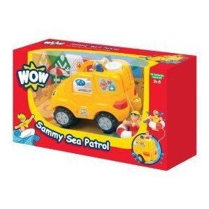 WOW Sammy Sea Patrol - Emergency (3 Piece Set) ミニカー ミニチュア 模型 プレイセット自動車 ダイキ