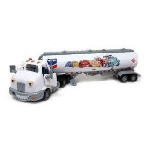 Chevron Cars Travis Tanker, 2 Piece Set, Cab & Tanker ミニカー ミニチュア 模型 プレイセット自…