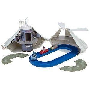 Disney (ディズニー) SPACE MOUNTAIN Monorail プレイセット ミニカー ミニチュア 模型 プレイセット自動