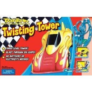 Darda Twisting Tower ミニカー ミニチュア 模型 プレイセット自動車 ダイキャスト