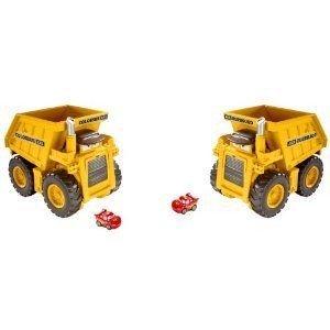 Cars Micro Drifters Colossus XXL Dump トラック, Set of 2 ミニカー ミニチュア 模型 プレイセット自動