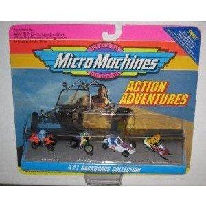 Micro Machines Action Adventures #21 Backroads コレクション ミニカー ミニチュア 模型 プレイセット