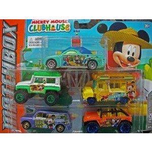 Mickey Mouse Clubhouse Fun Farm Farmer Matchbox (マッチボックス) 5 Pack ミニカー ミニチュア 模型