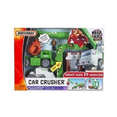 Matchbox (マッチボックス) Mega Rig Car Crusher Building System ミニカー ミニチュア 模型 プレイセッ