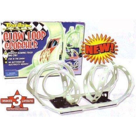Darda Glow Loop Scorcher 1/64 スケール ミニカー ミニチュア 模型 プレイセット自動車 ダイキャスト