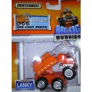 Matchbox (マッチボックス) Big Rig Buddies Lanky The Crane トラック ミニカー ミニチュア 模型 プレイ