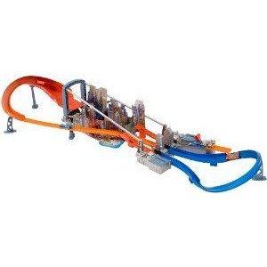 Hot Wheels (ホットウィール) Super Jump Raceway ミニカー ミニチュア 模型 プレイセット自動車 ダイキ
