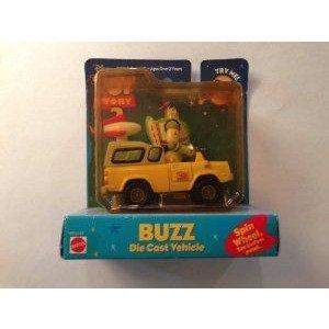 Toy Story 2 Buzz ダイキャスト Vehicle ミニカー ミニチュア 模型 プレイセット自動車 ダイキャスト