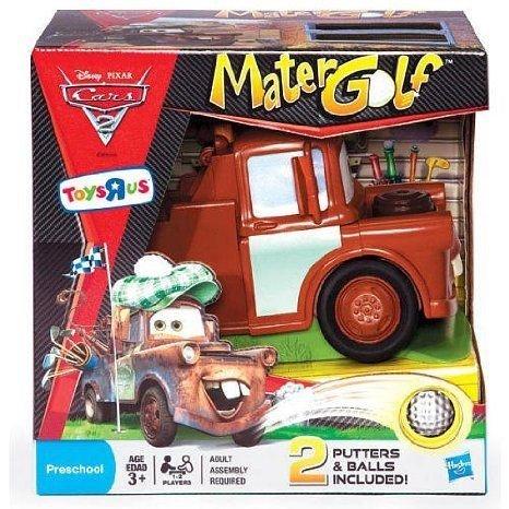 Disney (ディズニー) Pixar (ピクサー) Cars 2 (カーズ2) Mater Golf Game ミニカー ミニチュア 模型 プ