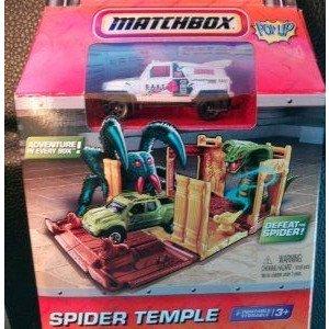 Matchbox (マッチボックス) Pop up Spider Temple Travel Play Set ミニカー ミニチュア 模型 プレイセッ