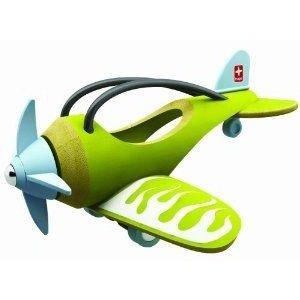 Hape (ハペ) International Bamboo E-Plane ミニカー ミニチュア 模型 プレイセット自動車 ダイキャスト