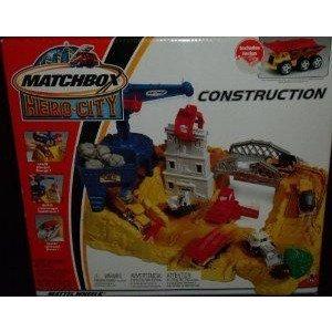 Matchbox (マッチボックス) Hero-City Construction プレイセット RARE ミニカー ミニチュア 模型 プレイ