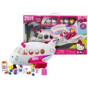 Hello Kitty Airlines Jet Plane プレイセット ミニカー ミニチュア 模型 プレイセット自動車 ダイキャス