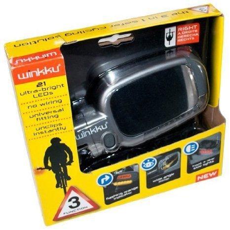 Winkku Bicycle Lights Mirror & Indicators ミニカー ミニチュア 模型 プレイセット自動車 ダイキャ…