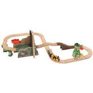 Thomas Wooden Railway - Treasure at the Mine プレイセット ミニカー ミニチュア 模型 プレイセット自