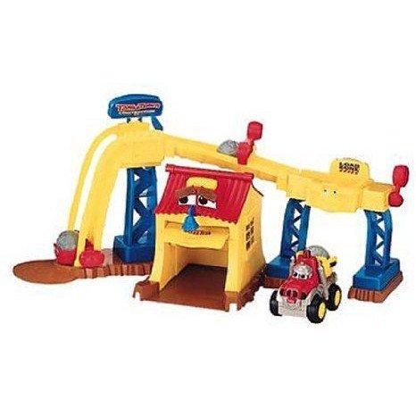 Tonka (トンカ) Town Construction Play Set ミニカー ミニチュア 模型 プレイセット自動車 ダイキャスト