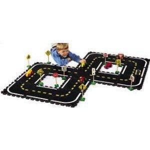 Road Builders Combo Play Set for Kids ミニカー ミニチュア 模型 プレイセット自動車 ダイキャスト