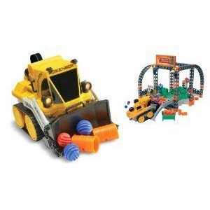 Rokenbok Remote Control Dozer with Recycling Center ミニカー ミニチュア 模型 プレイセット自動車 ダ