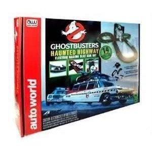 Ghostbusters Haunted Highway Ho スケール Slot Car Track ミニカー ミニチュア 模型 プレイセット自動