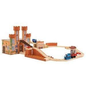 Thomas Wooden Railway - King of the Railway - Set ミニカー ミニチュア 模型 プレイセット自動車 ダイ