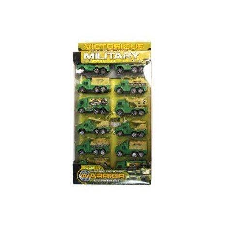 Military Toy トラック Set - Case of 24 ミニカー ミニチュア 模型 プレイセット自動車 ダイキャスト