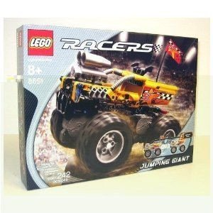 Lego Racers Set #8651 Jumping Giant ミニカー ミニチュア 模型 プレイセット自動車 ダイキャスト