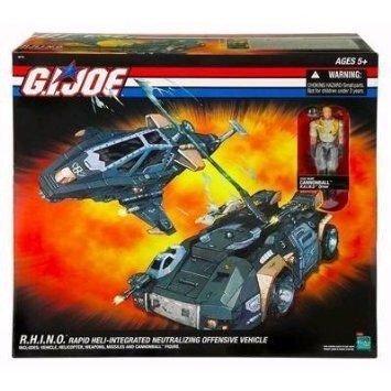 Gi Joe R.h.i.n.o Cannonball ミニカー ミニチュア 模型 プレイセット自動車 ダイキャスト