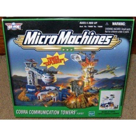 Micro Machines GI Joe Cobra Communication Towers プレイセット ミニカー ミニチュア 模型 プレイセッ