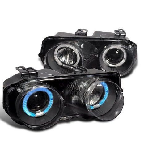 Acura Integra Rs Gs Ls Black Halo Projector Headlights Lamps ミニカー ミニチュア 模型 プレイセット