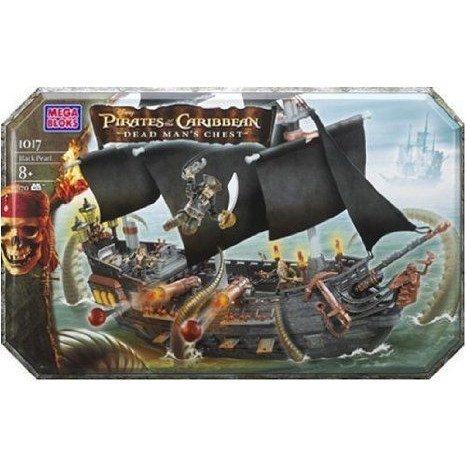 Mega Bloks Pirates of the Caribbean Black Pearl Ship プレイセット ミニカー ミニチュア 模型 プレイ