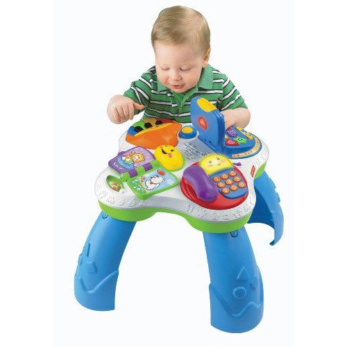 Fisher-Price Laugh & Learn Fun with Friends Musical Table フィッシャープライス知育玩具 ラフ&…