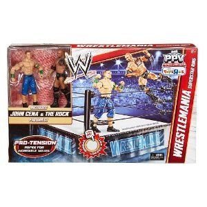 Mattel (マテル社) WWE (プロレス) Wrestling PPV Headquarters Exclusive Wrestlemania Superstar Ring