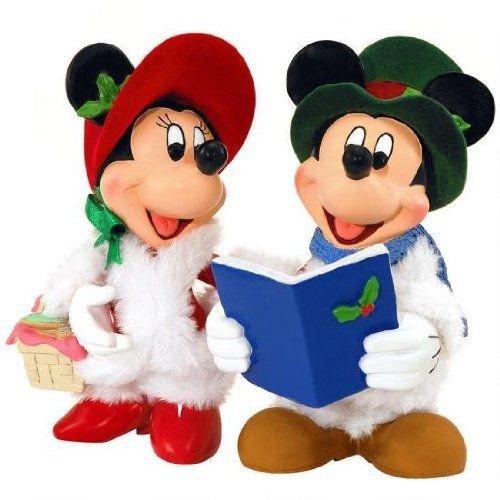 ディズニー デパートメント56 ミニチュア ミニーマウス .Mickey & Minnie Carolers. Department56 4023…