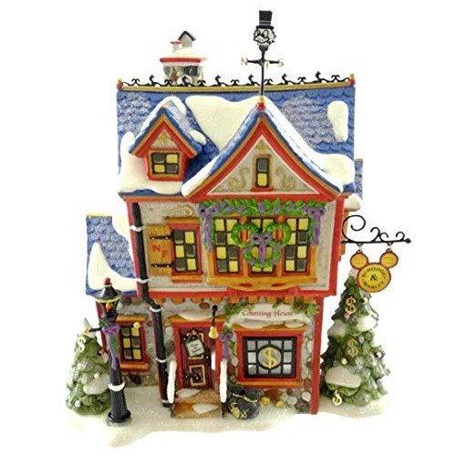 ディズニー デパートメント56 ミニチュア スクルージ .ScroogeMcDuck & Marley's Counting House. Disn…