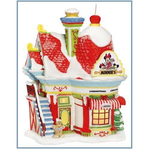 ディズニーフィギュア デパートメント56 ミニチュア パン屋 .Minnie's Bakery. Department56 811264