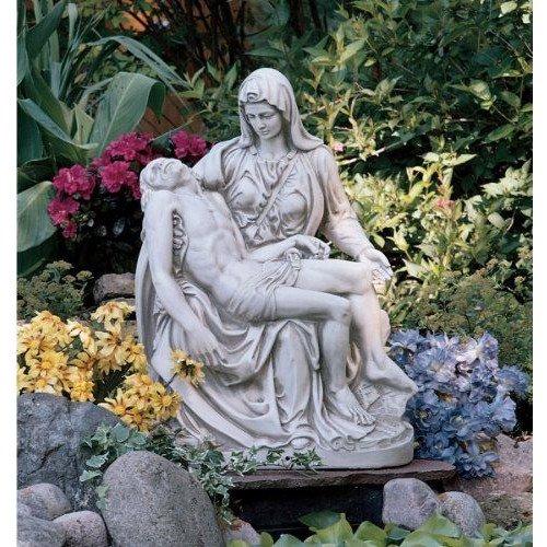 Michelangelo (1499) Pieta Statue Sculpture Figurineミケランジェロ(1499)ピエタ像の彫刻の置物【並