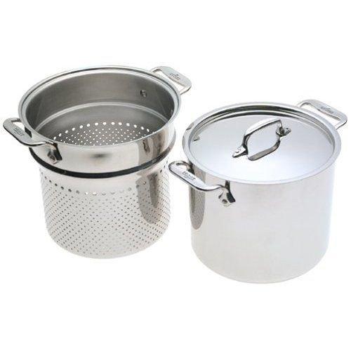 3-Ply Stainless Pasta Pentola 7-Quart Stockpot